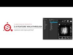 Substance Painter 2.4 New and improved Shelf - YouTube