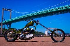 American Motorcycles, Vintage Motorcycles, Harley Davidson Motorcycles, Custom Motorcycles, Custom Bikes, Chopper Motorcycle, Motorcycle Design, Old School Chopper, Bone Stock