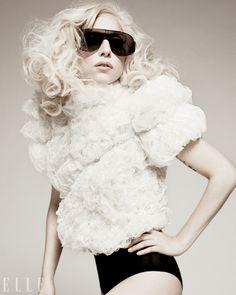 Lady Gaga from Elle magazine