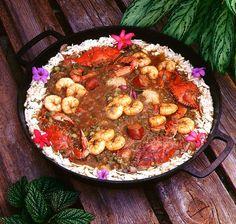 International food blog: AMERICAN: MARDI GRAS: How to make Gumbo, Jambalya, Beans, Etoufee, Muffulettas and Grits QUICK LINK