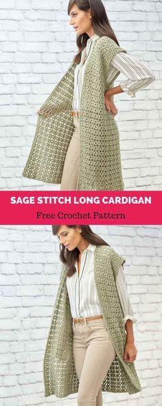 Easy & Breezy Lightweight Summer Vest FREE Crochet Pattern ...