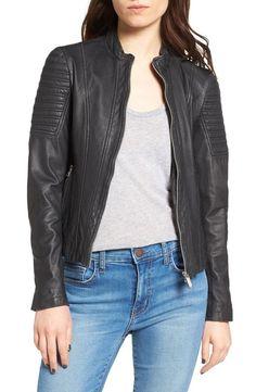 Women Black Color  Leather jacket genuine soft lambskin !## #royalcollection #BasicJacket