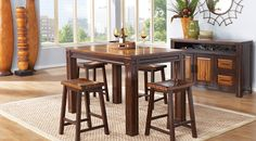 Affordable Counter Height Dining Room Sets - Rooms To Go Furniture