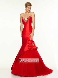 Trumpet / Mermaid Beading  Satin Prom Dresses / Evening Dresses