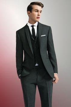 BOSS Selection Pinstripe Three-Piece Suit | Dapper | Pinterest ...