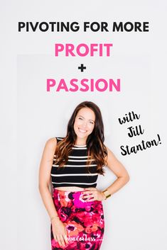 "Learn how to turn your passion into a profitable, creative online business from our guest Jill Stanton of ""Screw the Nine to Five"" podcast #entrepreneurmindset #selfcaretips #mentalhealth #selfcareideas #businesstips"