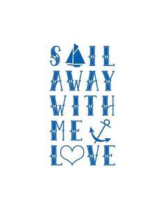 sailboat & anchors