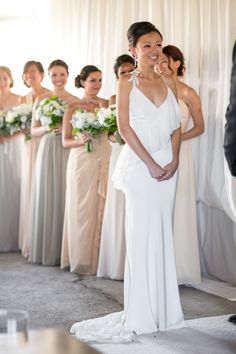 Nicole Miller gown. Photography: Mike Larson - mikelarson.com
