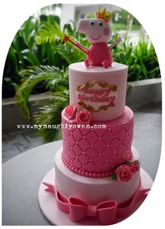 peppa pig fairy cake - Google Search