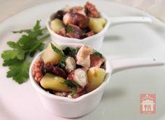 Insalata di polpo con patate, ricetta antipasto - Valebel in cucina