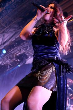 Floor Jansen with Nightwish at Circo Voador, Rio de Janeiro
