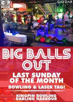 Last Sunday of the month we bowl & laser tag. Rotating between both we guarantee a fabulous time. Come as a group or come on your own for a fun social night out & make some new friends. Unlimited bowling & laser tag included as long as your arms hold out.