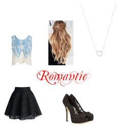 """""""Romantic"""" by latyca on Polyvore featuring Sans Souci, Dolce&Gabbana and Tiffany & Co."""