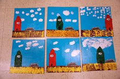 Prairie Landscapes and a Page from the Art Journal