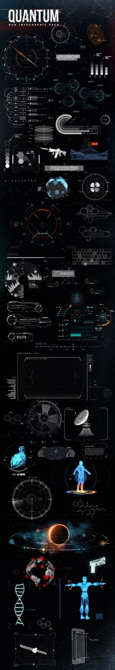 quantum hud infographic game user interface gui ui | Create your own roleplaying…