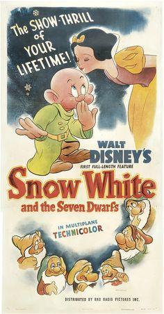 Vintage Snow White poster!