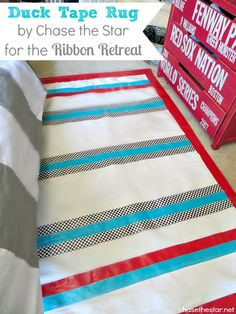 How to Make a Duct Tape Rug