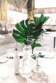 Palm Perfect - 16 Design Ideas To Steal From Summer Weddings - Photos