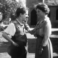 """On Valentine's day 1919 Hellen Keller met Charlie Chaplin... she was reportedly unimpressed. When asked what he thought of her, Chaplin remarked """"she gets around, I only know that because her fingers smell like everywhere she's been."""" #babettebombshell #hauntedhotel #oddcouples #politicalcorrectness"""