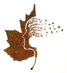 Delicate Leaf Cuttings By Omid Asadi