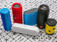 As dozens of tiny wireless speakers continue to flood the market, here& a look at CNET& current top picks for mini Bluetooth speakers that you can take with you wherever you go. Wireless Speaker System, Bluetooth Gadgets, Best Portable Bluetooth Speaker, Small Speakers, Cool Bluetooth Speakers, Best Speakers, Waterproof Bluetooth Speaker, Audio Speakers, Beats Pill