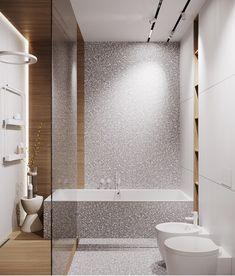 Very Small Bathroom, Family Bathroom, Laundry In Bathroom, Modern Bathroom Decor, Bathroom Interior Design, Home Interior, Dream Bathrooms, Beautiful Bathrooms, Bathroom Inspiration