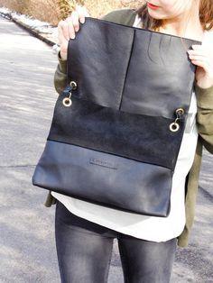 Lederhandtasche von der wunderbaren Vera – Ebook-Anleitung nun endlich hier: http://de.dawanda.com/product/71510519-Naehanleitung-Ledertasche-eBookPDF