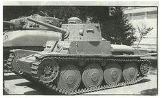 TNH light tank of the Iranian army first delivered in 1937. Note the Sherman tank (delivered to Iran after World War Two) behind the TNH (Photo Source: (Picture Source: Matofi, A., 1999, Tarikh-e-Chahar Hezar Sal-e Artesh-e Iran: Az Tamadon-e Elam ta 1320 Khorsheedi, Jang-e- Iran va Araqh [The 4000 Year History of the Army of Iran: From the Elamite Civilization to 1941, the Iran-Iraq War]. Tehran:Entesharat-e Iman, pp.1134).