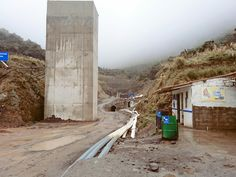 Tunel trasvase de la laguna san marcos