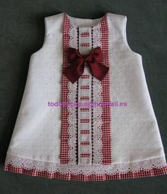 Picasa-Webalben Baby Girl Fashion, All Fashion, Kids Fashion, Sewing For Kids, Baby Sewing, Little Girl Dresses, Girls Dresses, Baby Dresses, Frock Design