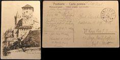 Cartolina inviata da Adolf Hitler, nell'ottobre 1916