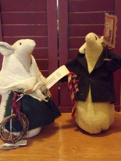 Christmas Mice, handmade USA, Kathy's Holiday, Ocean City, NJ