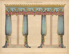 Эскизы штор начала 19 века / Блог им. Zili / TheDecoPost