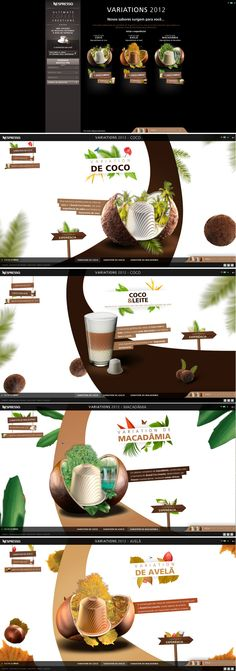 Nespresso!! #html5 #ux #responsive