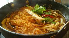 """Miso Tonkatsu Kimchi Udon Restaurant named """"Misoya"""", circa 2015 Seoul, South Korea"""