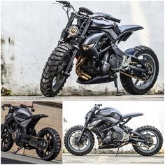 Kawasaki Cafe Racer, Cafe Racer Moto, Suzuki Cafe Racer, Cafe Racing, Cafe Racer Bikes, Tracker Motorcycle, Scrambler Motorcycle, Moto Bike, Modern Cafe Racer