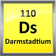 November 9 is the element darmstadtium's birthday. German scientists in Darmstadt, Germany created four atoms of element 110, darmstadtium.