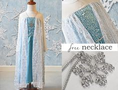 Ice Queen Dress Clearance Sale $14.40 PLUS Free Necklace!