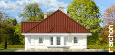 Dom w lotosach 2 Bungalow House Design, Home Fashion, House Plans, Cabin, Dining, House Styles, Home Decor, House 2, Home