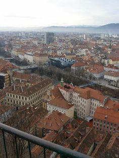The spaceship landed into town - Graz, Styria, Austria Copyright: Nikola Nadas