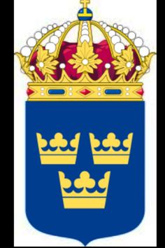 Three crowns of Sweden
