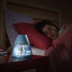 Niedliches Disney Frozen Nachtlicht mit Projektor