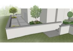 Design visual illustrating rear raised #granite #patio and access areas from side and lower ground level. Garden Design & Landscaping in #Rathfarnham, Dublin.  www.owenchubblandscapers.com Landscape Design Software, Garden Landscape Design, Garden Landscaping, Landscaping Design, Outdoor Furniture Sets, Outdoor Decor, How To Level Ground, Granite, 3 D