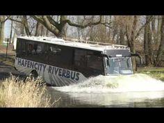 Ungewöhnliche Stadtrundfahrt: Amphibienbus schippert durch Hamburger Hafen | traveLink.