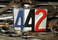 442  License Plate Belt Buckle by VieuxdoArt on Etsy