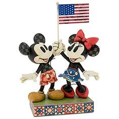 ''Goodwill Ambassadors'' Minnie & Mickey Mouse Figurine by Jim Shore