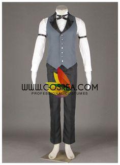 Black Butler Claude Faustus Cosplay Costume