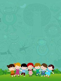 Children s training background material Kids Background, Poster Background Design, Cartoon Background, Powerpoint Background Design, Happy Children's Day, Happy Kids, Children's Day Craft, International Children's Day, Kids Poster