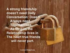 Message To A Friend, A strong friendship Does't need Daily Conversation Friendship Sms, True Friends, Relationship, Messages, Life, Real Friends, Relationships
