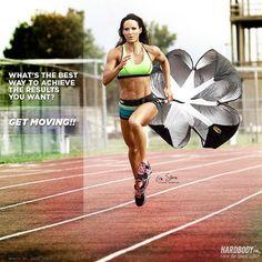 Get moving - hardcore cardio running